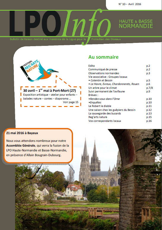couverture du LPO Infos numéro 10