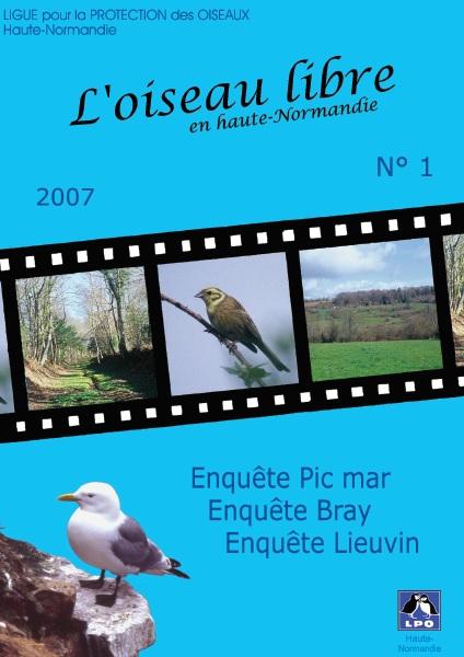 couverture de l'Oiseau Libre numéro 1