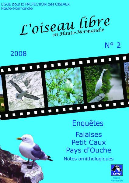 couverture de l'Oiseau Libre numéro 2