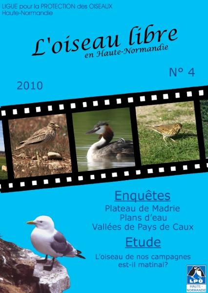 couverture de l'Oiseau Libre numéro 4
